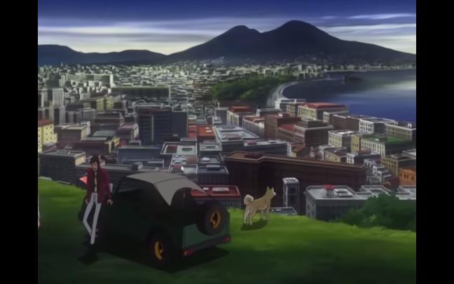 Lupin III e il Vesuvio, 2015