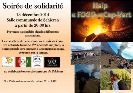 Fogo (Capo Verde), cartelli di sostegno (anche spirituale) alla popolazione disastrata dall'eruzione vulcanica - 15/30