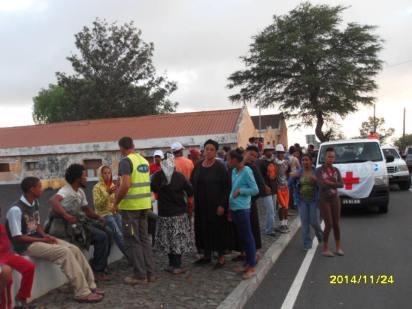 Evacuazione di Portela (Fogo, Capo Verde), novembre-dicembre 2014 - 5/14