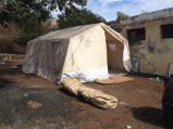 Fogo (Capo Verde), una tenda da campo per gli sfollati - 30/30
